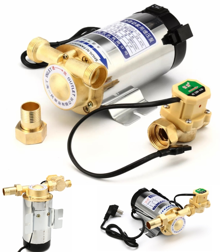 100W Water Pressure Booster Pump Shower Home Elect