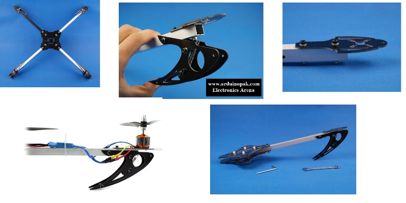 Quadcopter X600 V3 4-AXIS Multi Glass Fiber Frame
