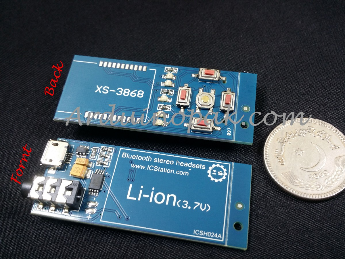 XS3868 Transit board Bluetooth stereo audio module