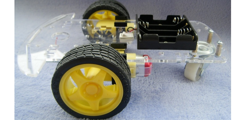 DIY SMART CAR CHASSIS 2WD ROBOT