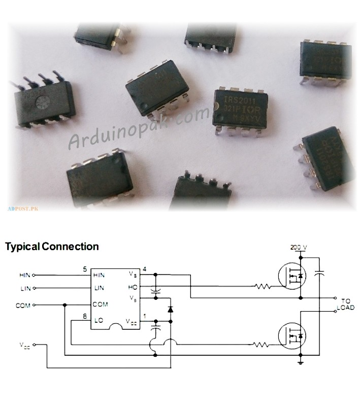 Irs2011 Ups Mosfet Driver Ic Ir2011 Irs 2011