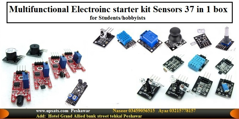 sensor kit 37 kinds of sensors for hobbyist