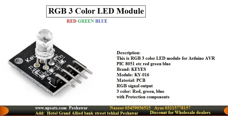KY016 RGB LED light module