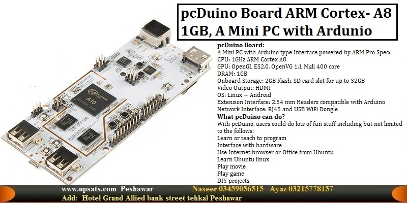pcDuino Board Mini PC 1G ARM Cortex A8 CPU HDMI XM