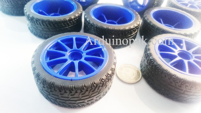 High Quality 65mm Smart Wheel Tire Model for Robot