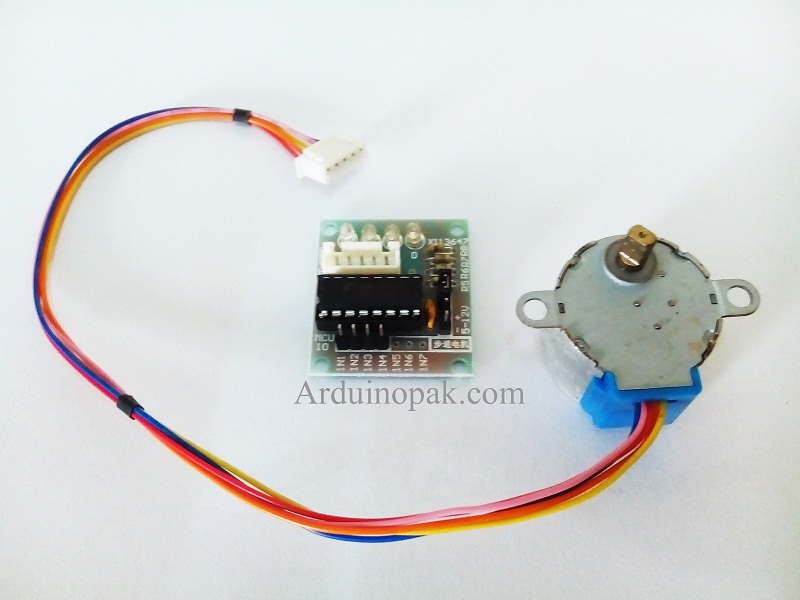 ULN2003 Driver Board + 5V 4 phase 5 wire stepper G
