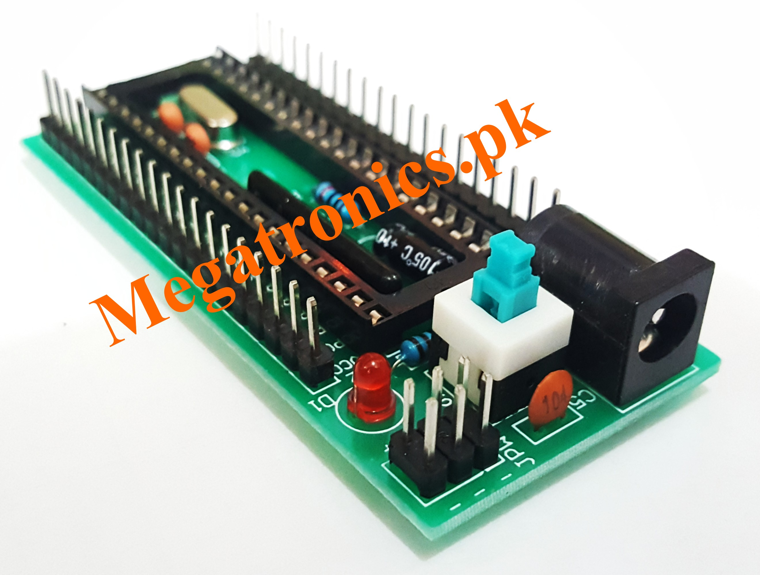 8051/89CXX/89SXX Microcontroller Development board