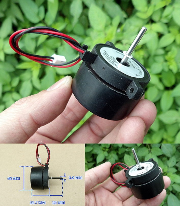 External rotor brushless motor DC 12V 3600RPM