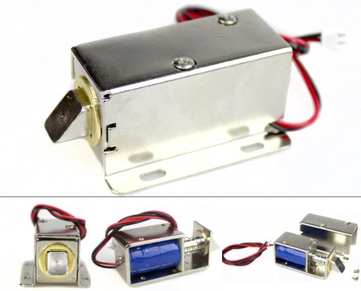 12V Electromagnetic Door Lock Electronic Magnet