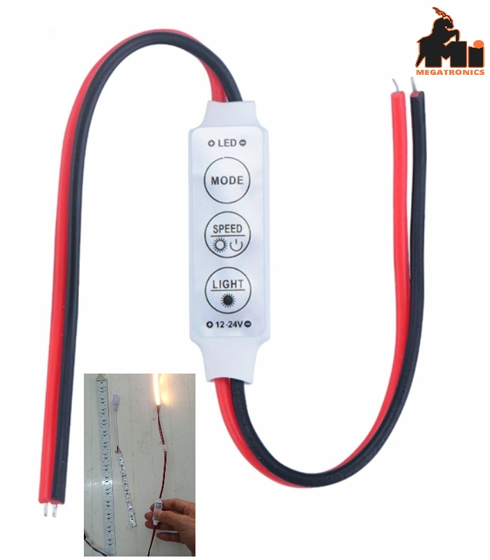 12-24v led controller three button monochrome manual online dimmer flash monochr