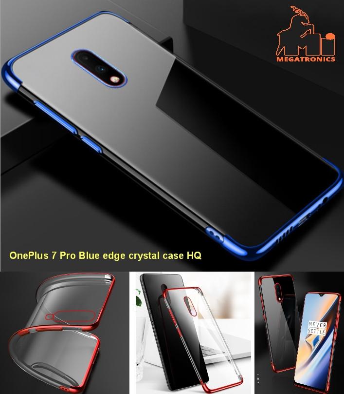 GKK Oneplus 7 pro Case Soft Silicone blue Flexible