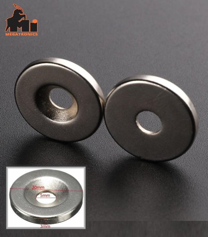 NdFeB Strong Magnet Neodymium 20×3mm N35 M4