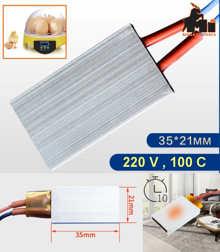 Ceramic 220V PTC 100c Heating Element heater Therm
