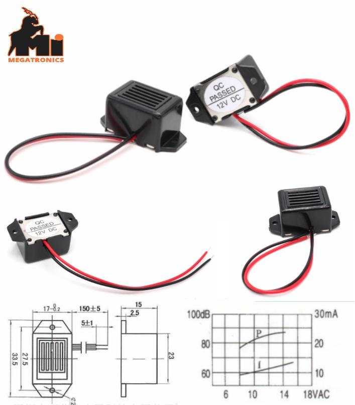 2315 12V active mouse bird repeller buzzer stable