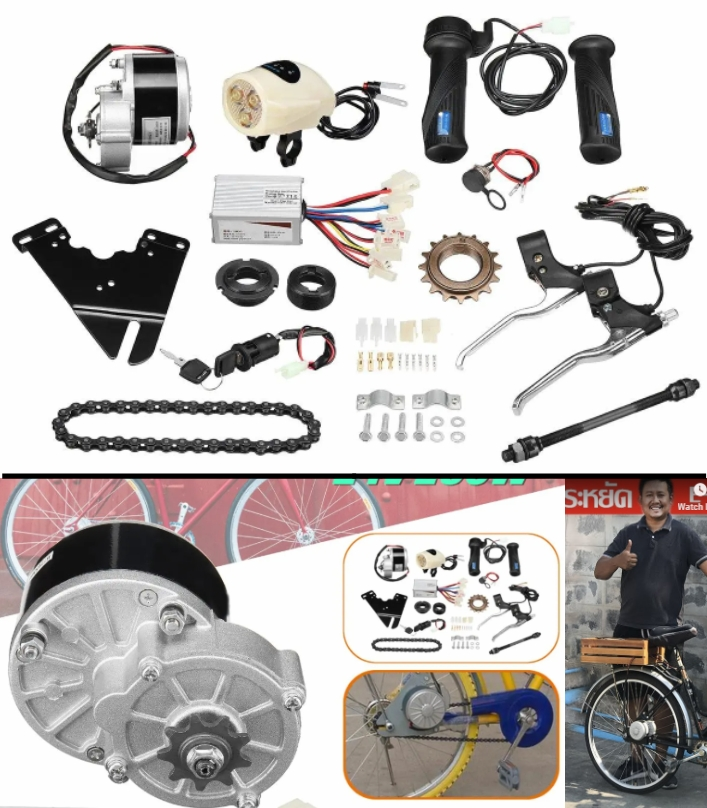 24V 250W Electric Bike Conversion kit Scooter Moto
