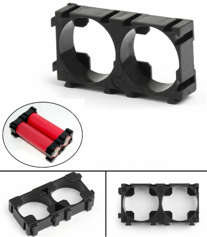 18650 2×1 Battery Cell Spacer Holder mount