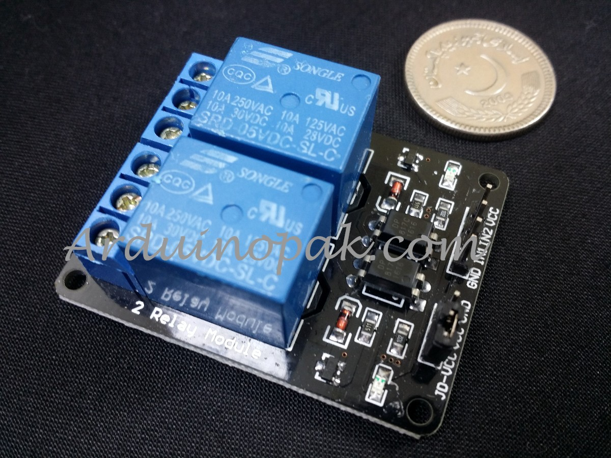 5V 2 Channel Relay Module For Arduino ARM PIC AVR