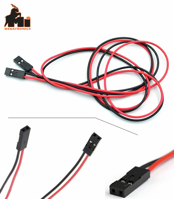 70cm 2 pin female to female cable jumper wire Dupont cable