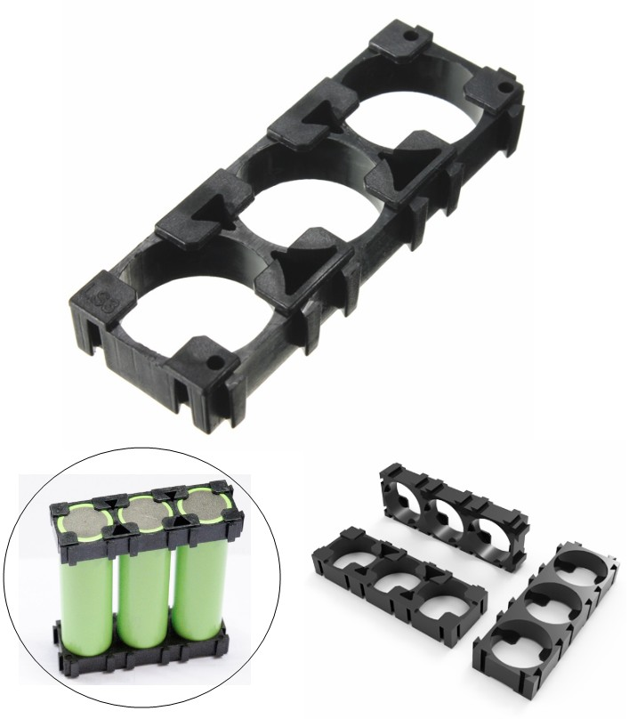 18650 3×1 Battery Cell Spacer Holder mount