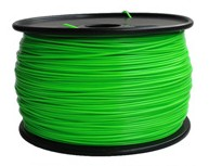 3D Printer Filament ABS 1.75 Green color HQ