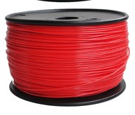 3D Printer Filament ABS 1.75 Red color HQ