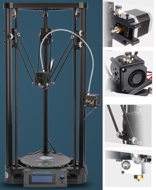Anycubic Delta Kossel 3D Printer Education diy