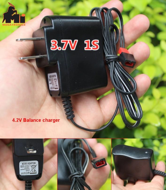 3.7V cell 4.2V balance battery charger airplane li