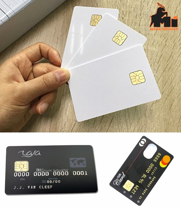 RFID PVC Contact Card SLE4428 4442 Chip Smart IC C
