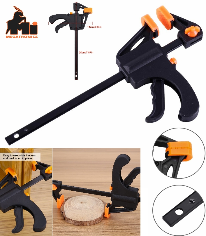 F-Bar Clamp Woodworking F Clamp 4 Inch grip Clip C