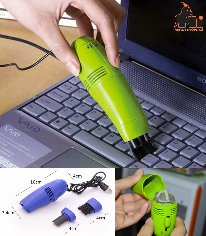 A4022 Computer Usb Keyboard Vacuum Esclector Cleaner With Brush Key Brush Mini T