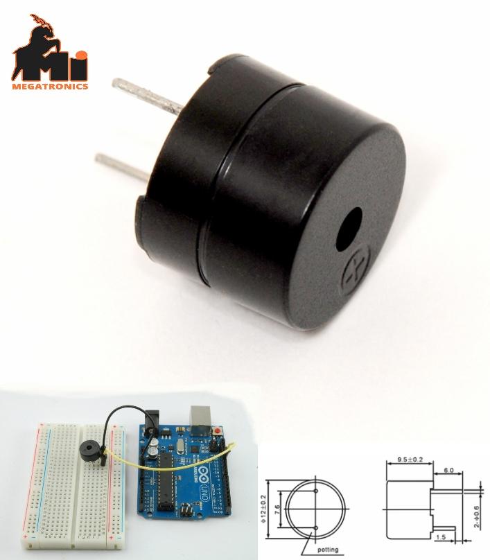 Magnetic Alarm Ringer Active Buzzer Beeper