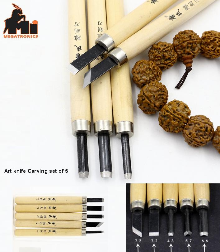 5pcs Wood carving knife Art DIY knife set wood carving knife handmade wood carvi