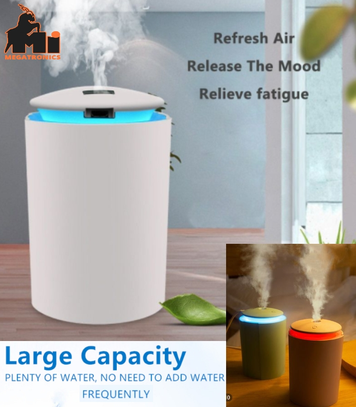 USB Mist Air Humidifier 260ml Portable Ultrasonic