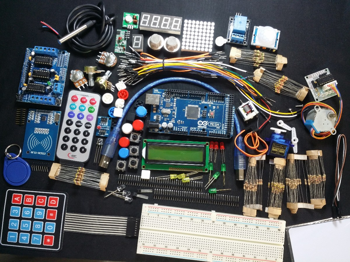 Arduino Mega expert Learning kit