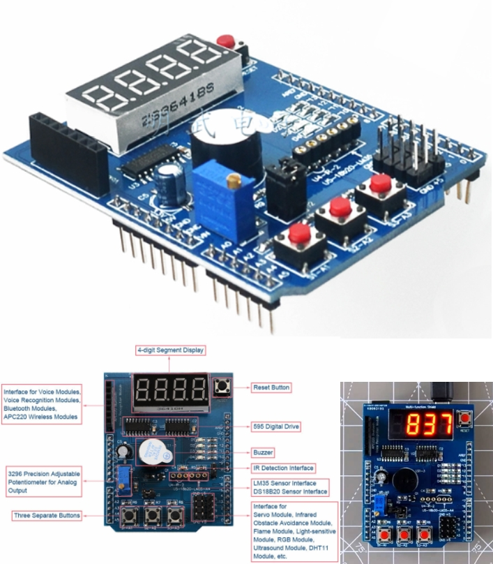Arduino Multi-functional  Development Board Learni