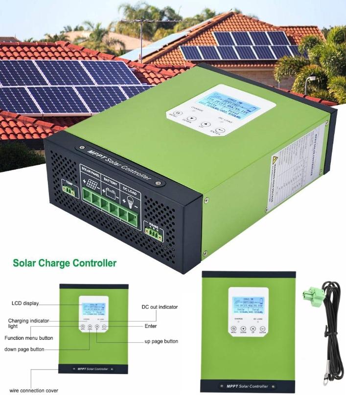TYC-60IR 60A MPPT Solar Charge Controller 12V24V48