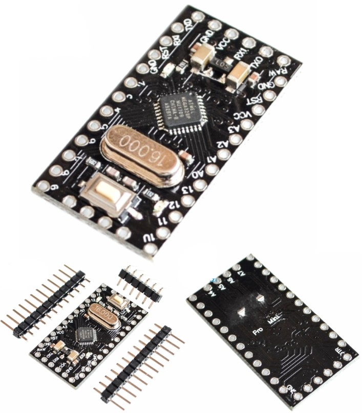 Arduino Pro mini ATega328 5V 16M New version impro