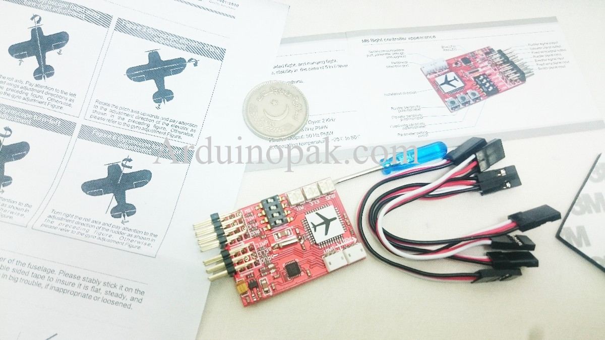 RC JCX-M6 Digital Flight Controller for Airplane a