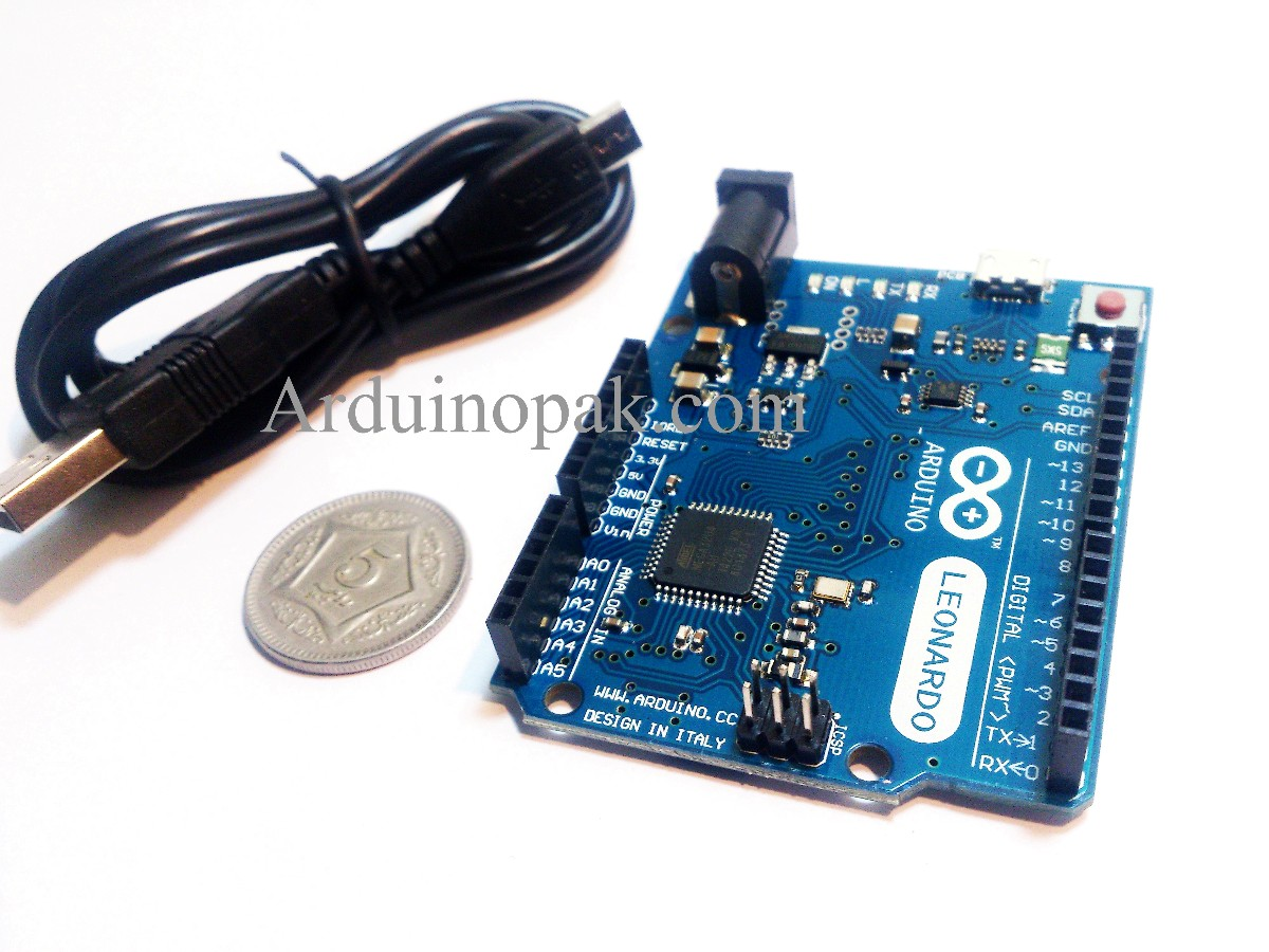Arduino leonardo R3 with USB cable