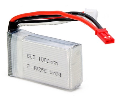 7.4v 1000mah 25c  LiPo Battery Walkera husban