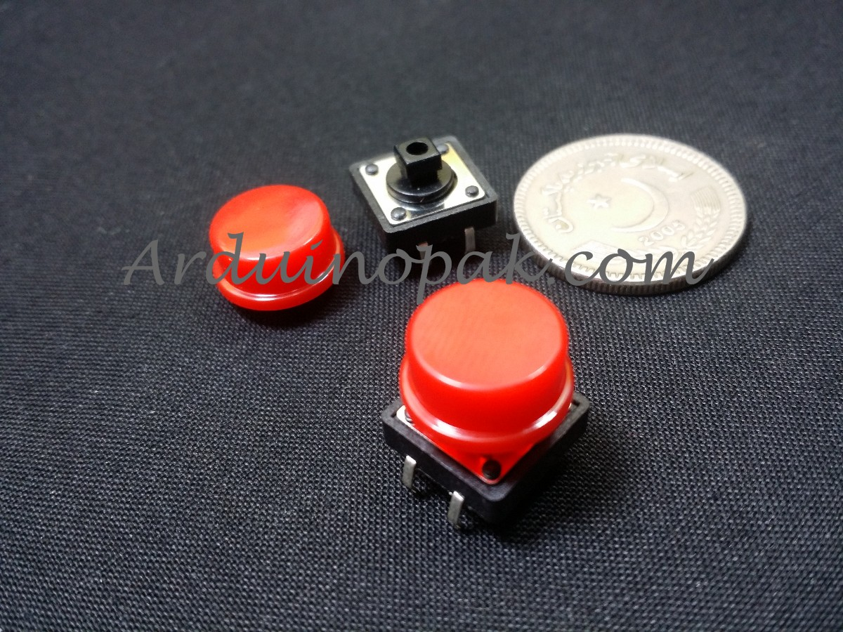 B3F Switch Round Tactile Button Switch with cap 12