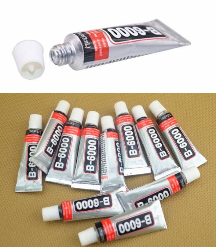 B-6000 glue 3ml universal self-adhesive crystals h