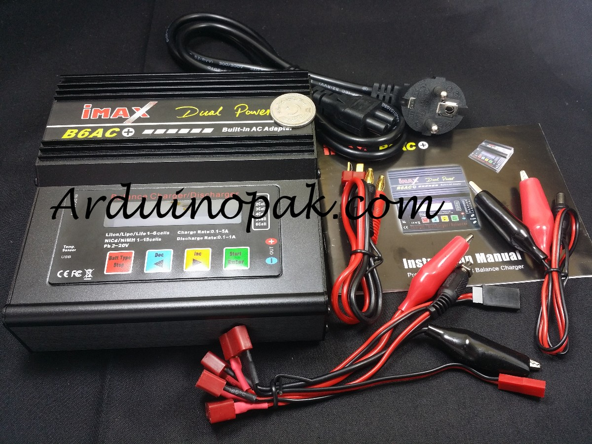 iMax B6AC+ 80W RC Balance Charger Discharger AC DC