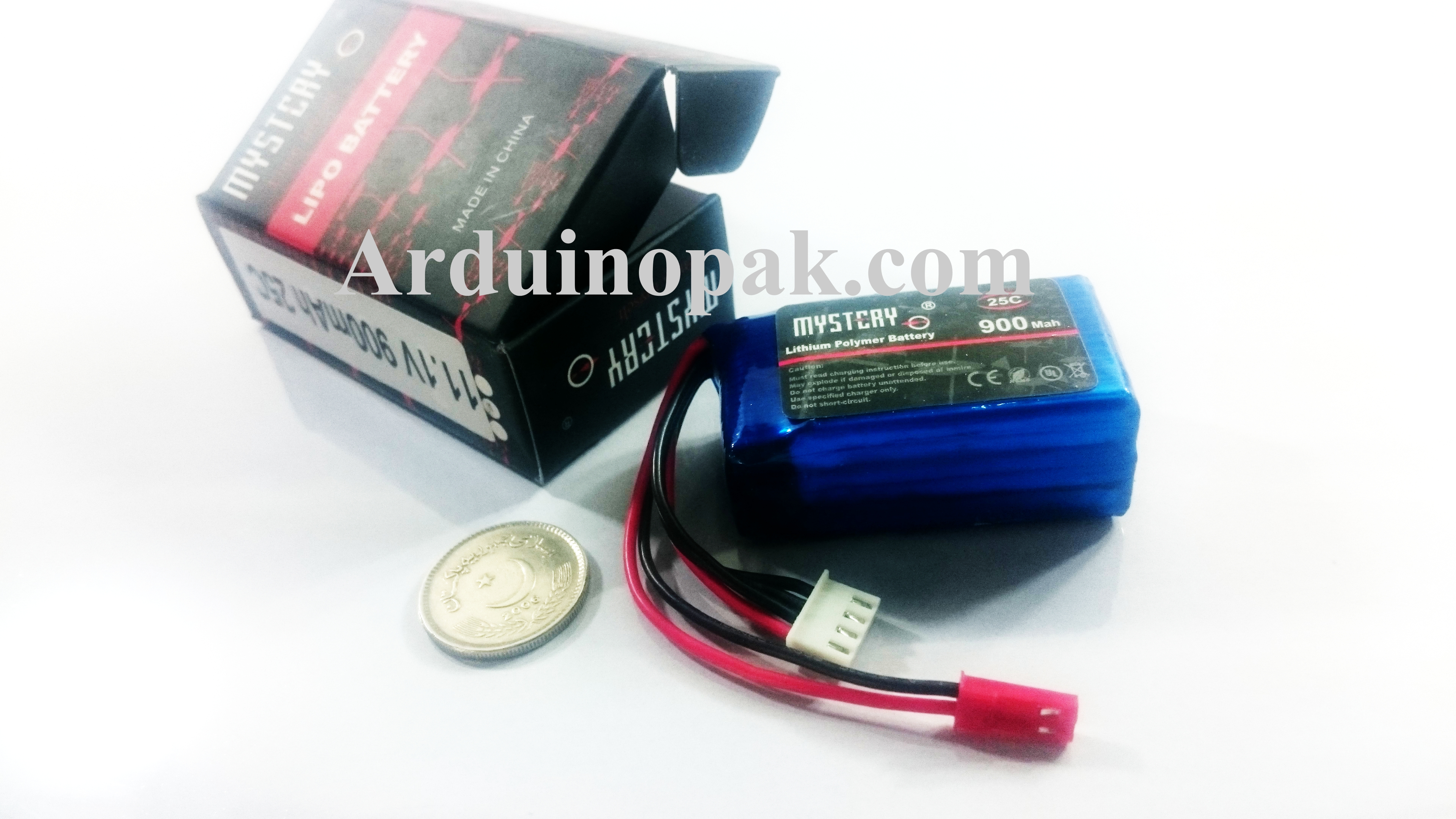 Li-Po battery 11.1V 25C 900mAh 3S RC Rechargeable