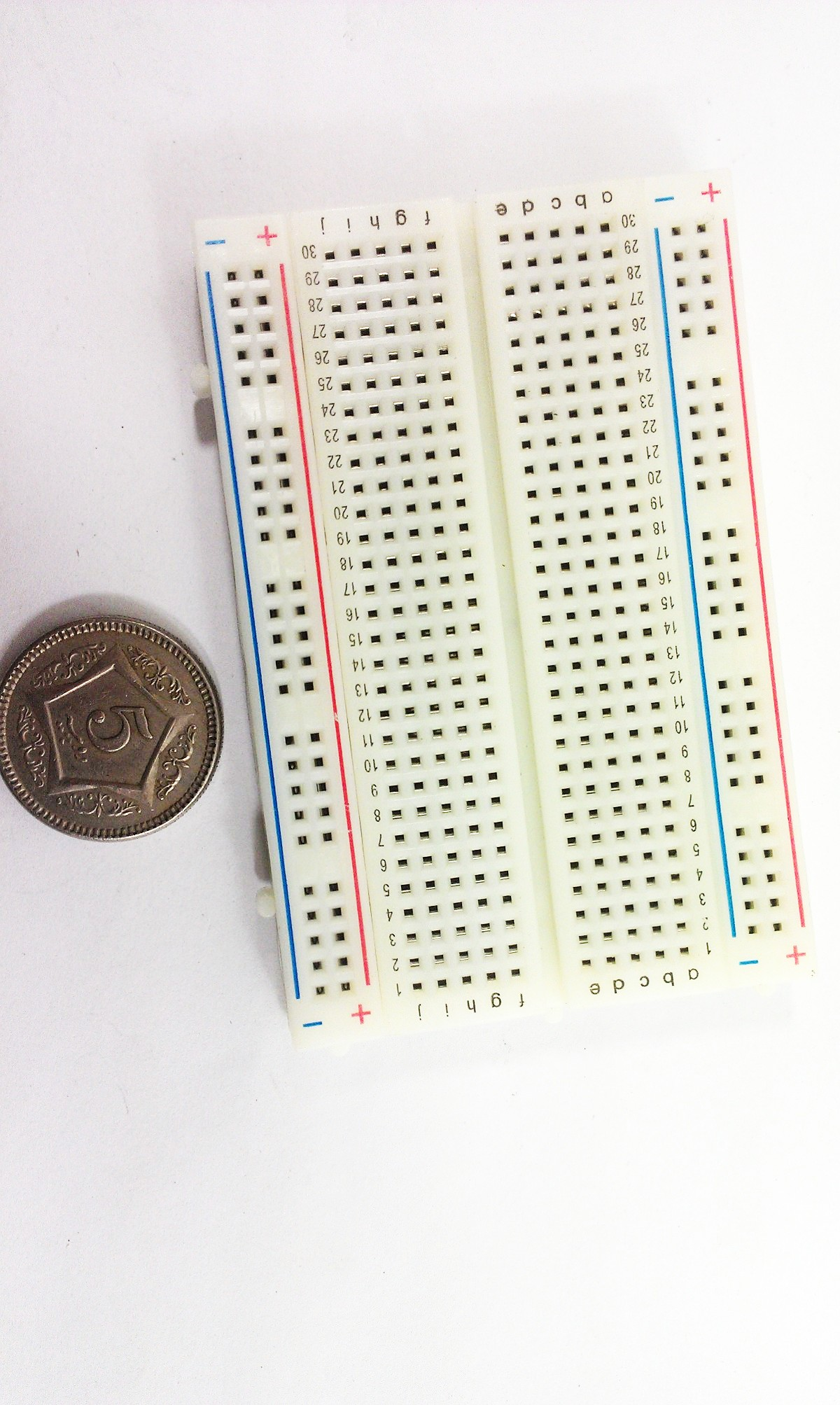 Mini Solderless Breadboard 400 Contacts Tie Points
