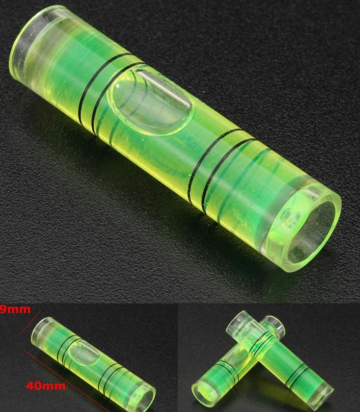 Mini Level Bubble Gauge Cylinder Horizontal