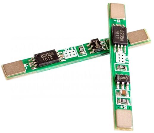 3.7V 1A Single 18650 Lithium Battery Protection Bo
