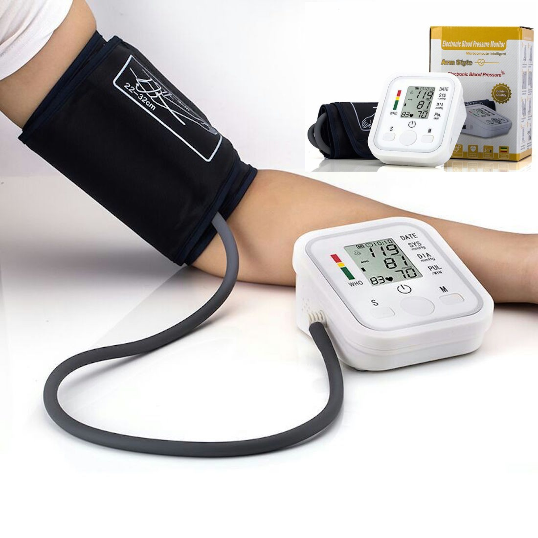 Blood Pressure Monitor with Voice function Digital