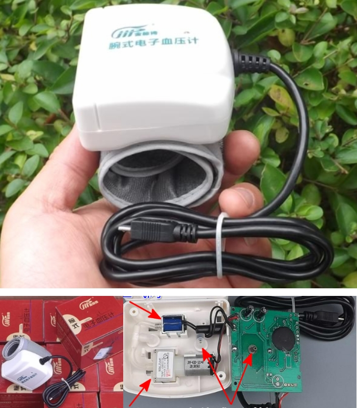 Outdated Blood pressure monitor for DIY projects