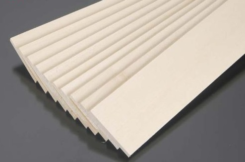 1000x100x5mm Balsa Wood Sheet Block for aircarft